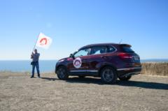 Участники автопробега «Безопасное пространство с «ФЭСТ» преодолели более 3000 километров